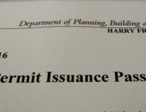 Building Permit has been issued