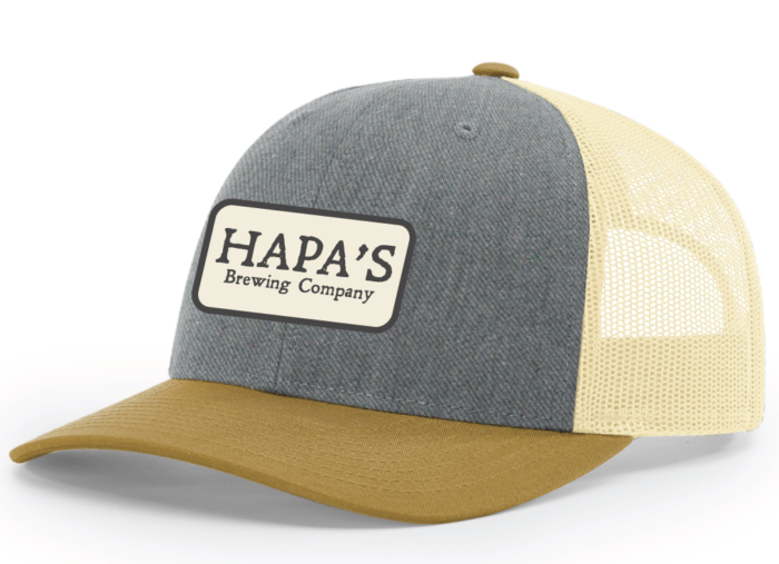 Hapa's Brewery Blue Patch Hat